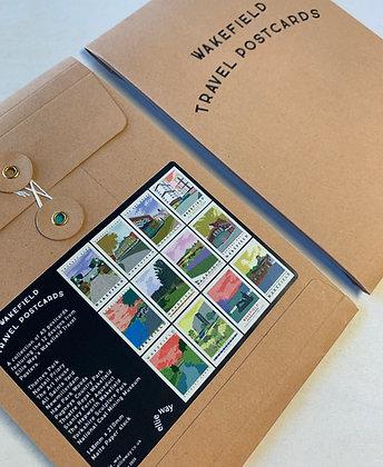 Wakefield Travel Postcards Gift Set