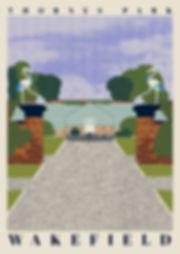 Ellie Way | Thornes Park | Wakefield Travel Posters