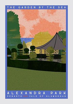 Alexandra Park Travel Poster