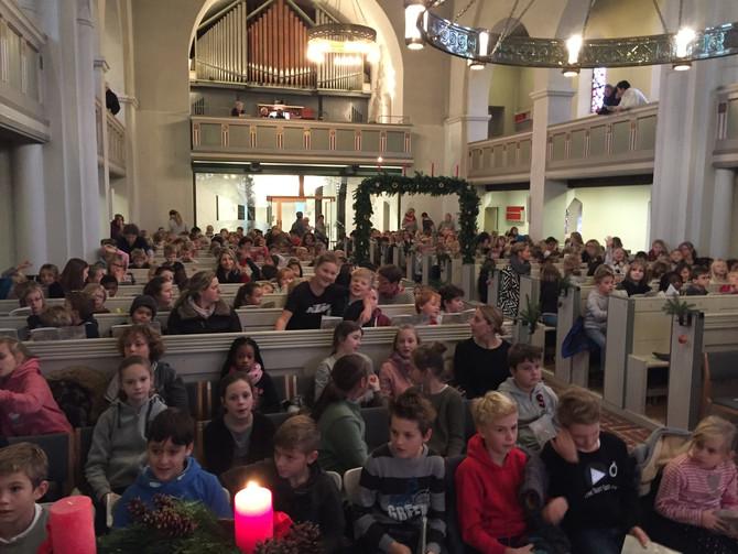 Weihnachtssingen in der St. Nicolaikirche