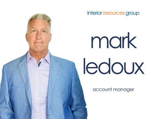 Interior Resources Group Welcomes Mark LeDoux To Their Team