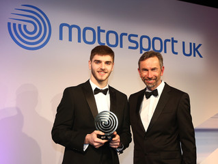 Neary recognised at Motorsport UK Night of Champions