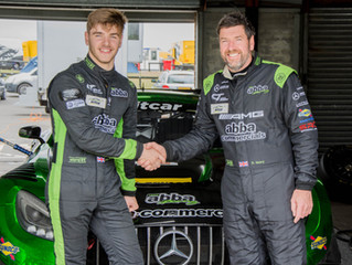 Sam Neary joins father Richard for ABBA's 2020 British GT3 campaign