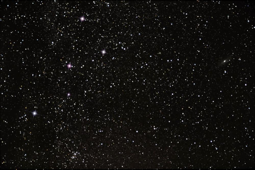 La constelación Casiopea. / Fuente: Canonistas