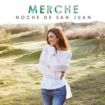 Portada del último single de Merche. / FUENTE: Popelera