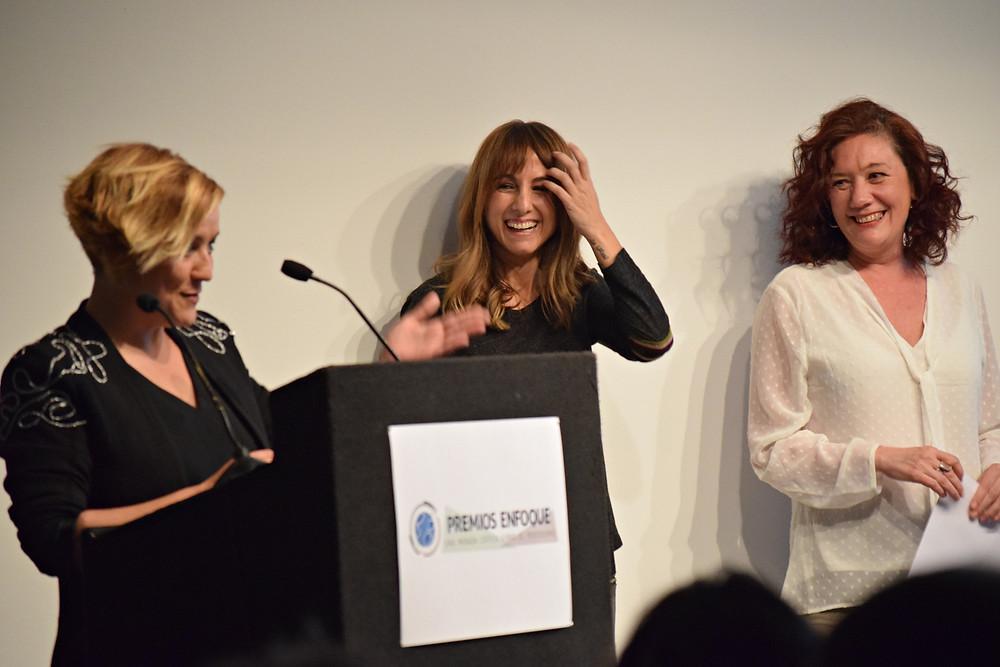Cristina Pardo, Ana Pardo de Vera y Cristina Fallarás. / Fuente: B.J.