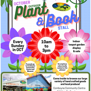 Plant Sale during October
