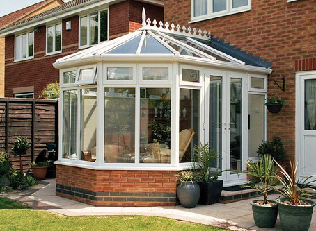 Are you melting in your conservatory?
