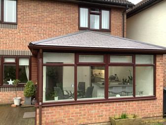 What our customers say about their Andy Glass Windows' WARMroof installations