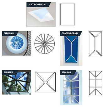 Rooflight Options - Andy Glass Windows