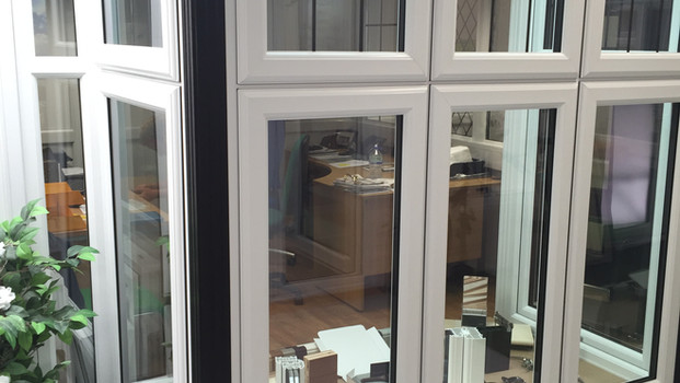 Window showroom area