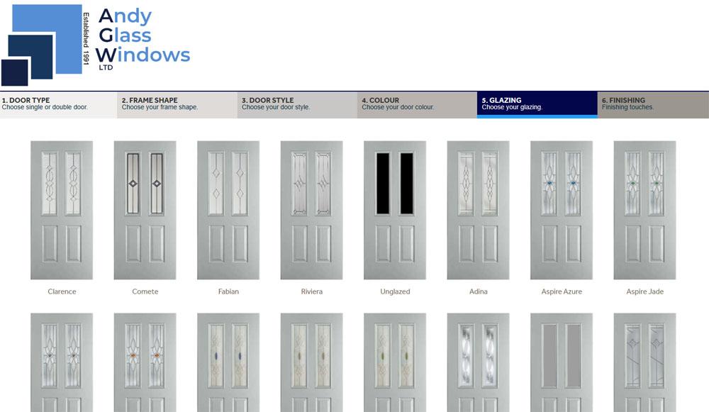 Choose your glazing