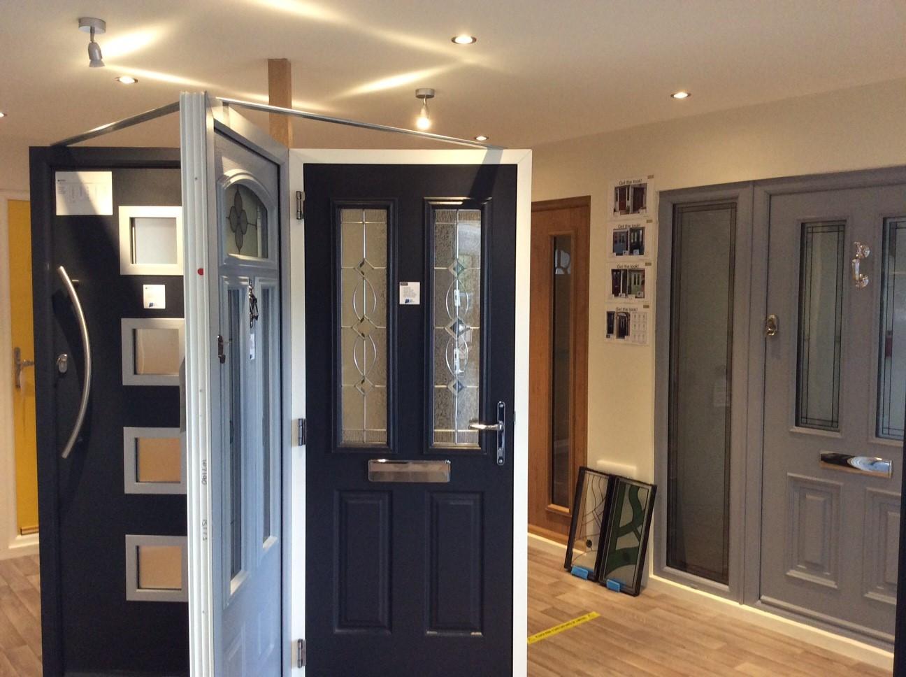 Door showroom area