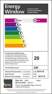 Energy Window BFRC