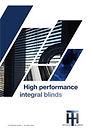 HiTech Magnetic Integral Blinds Brochure
