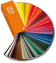 RAL K5 Colour chart
