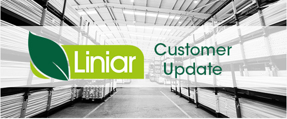 Latest update and reassurance for Liniar customers