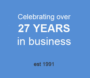 We've been in business for 27 years!