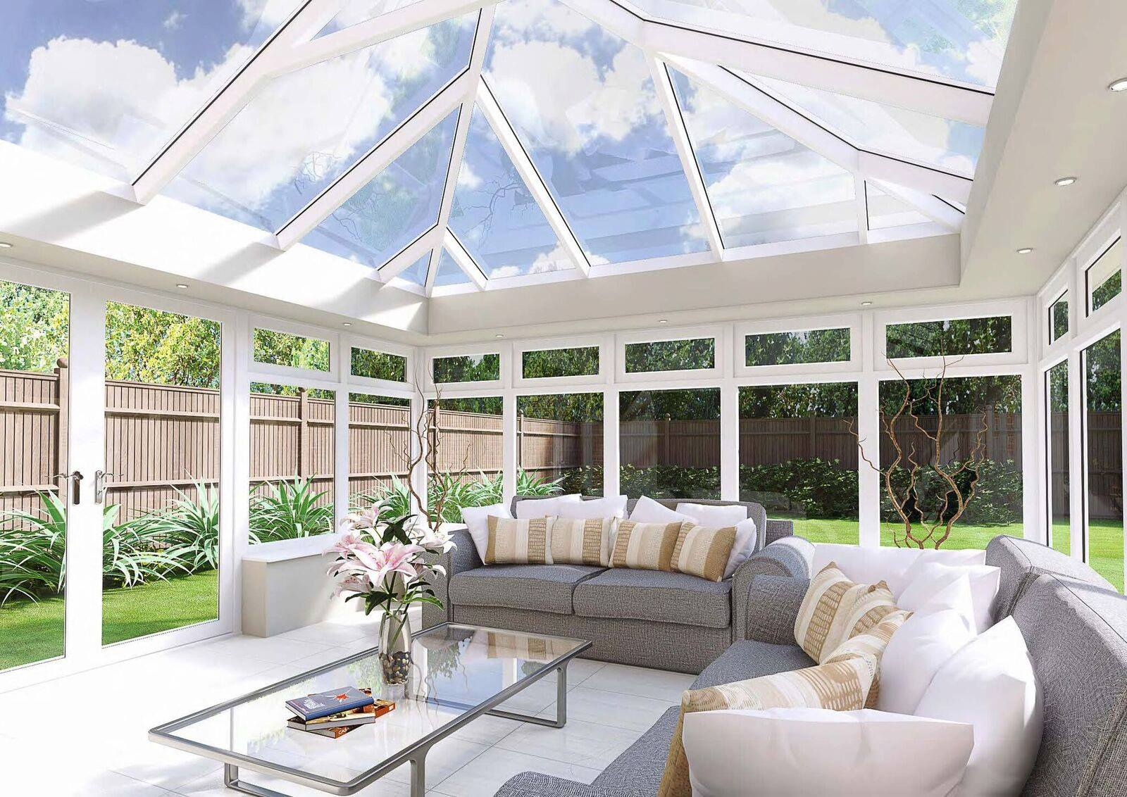 Architectural Glass Roof
