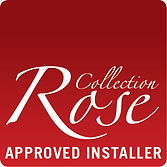 Rose Collection Approved Installer badge