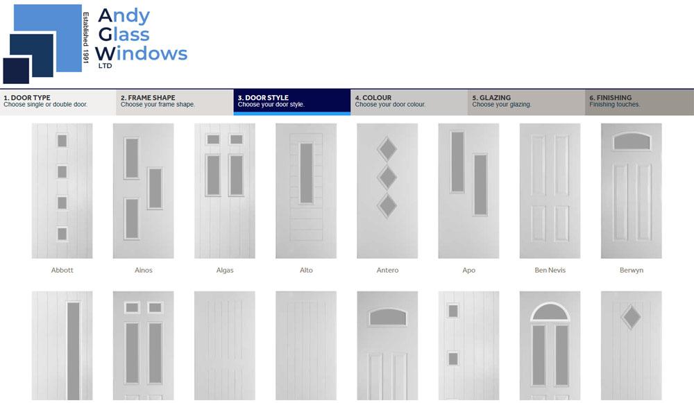 Choose a door style