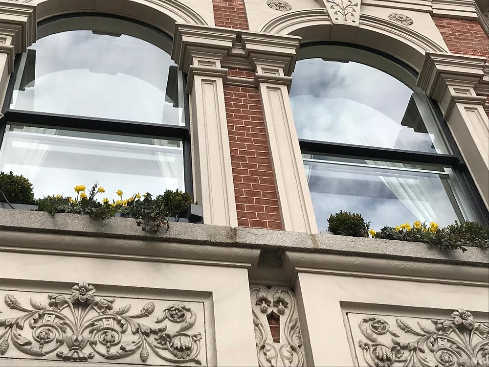 External vertical sliders secondary Glazing