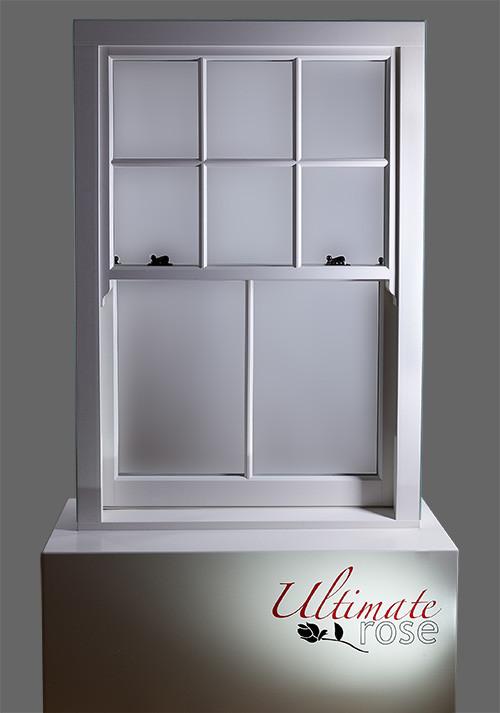 Ultimate Rose uPVC Vertical Slider (sash window)