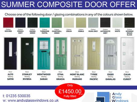 Summer Composite Door Special Offer