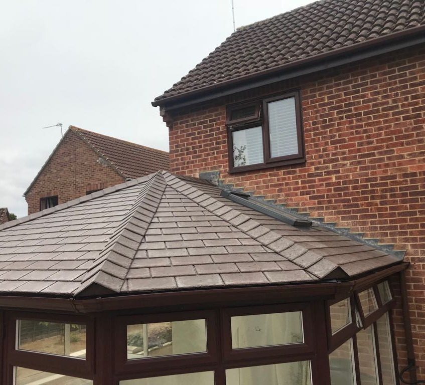 New roof with velux