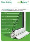 Andy Glass Windows - EcoEnergy Triple Glazing Brochure