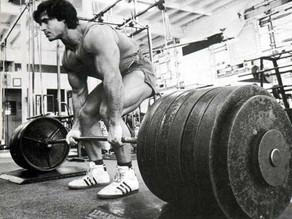 С какой спиной делать тягу?