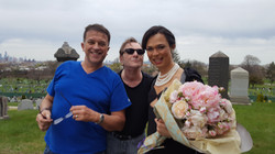 Francisco, Patrick and Xica on location
