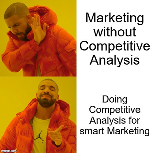 Marketing plan after doing competitive analysis is a way to a good plan.