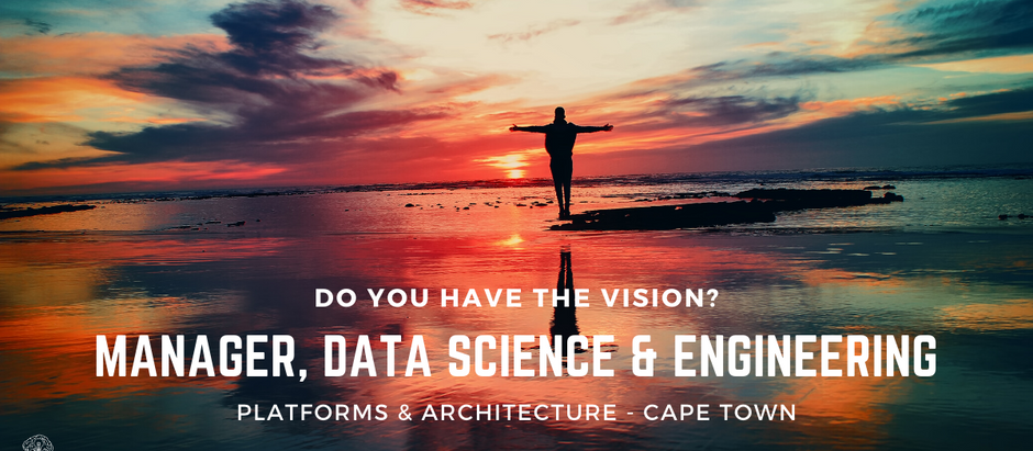 Manager, Data Science & Engineering