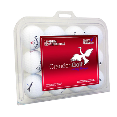 custom golf ball packaging with a custom label from the leading custom golf ball packaging manufactu