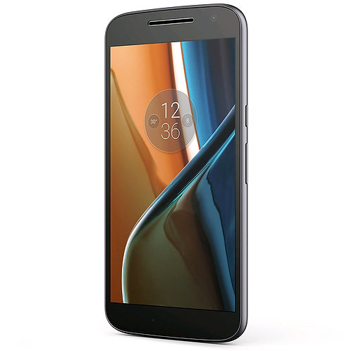 Motorola Moto G4 (16GB) XT1621 GSM Factory Unlocked 4G LTE Phone - BLACK