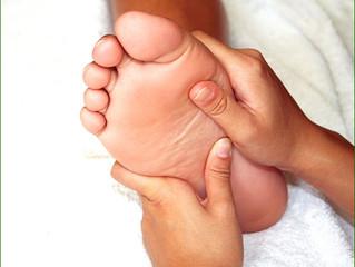 Un corps sur le petit orteil, symbolique !!