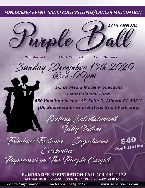 Purple Ball 2020