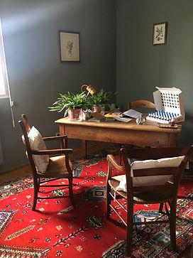 Cabinet d'accueil d'Emmanuelle Moulin conseillere en Fleurs de Bach