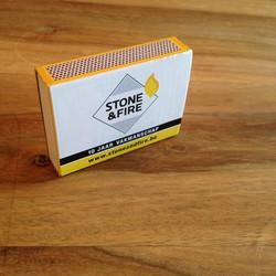 Logo Stone & Fire luciferdoosje