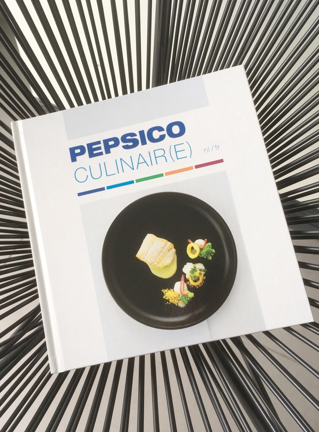 Ontwerp kookboek Pepsico