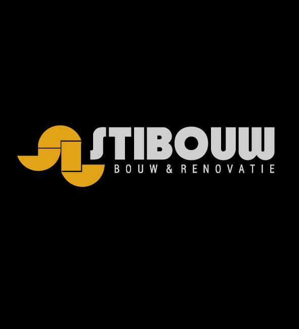 Stibouw logo ontwerp