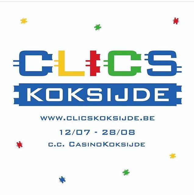 CLICS Koksijde logo design