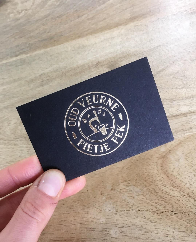 Logo Oud Veurne - Pietje Pek