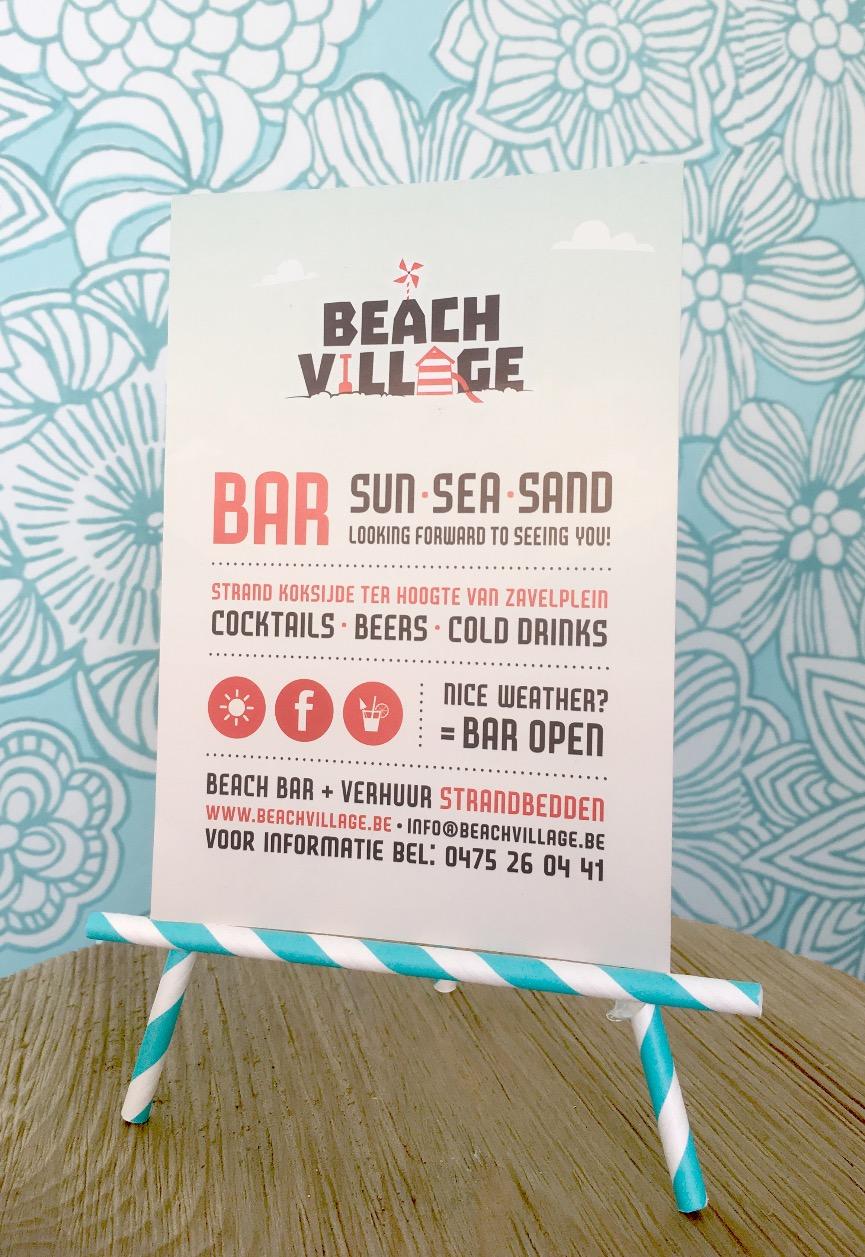 Beach Bar flyer