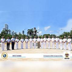 Reserva Naval de Colombia en UNITAS LIX 2018