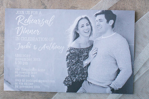 Custom Invitation/Save the Date