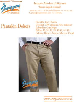 PANTALON DOKERS