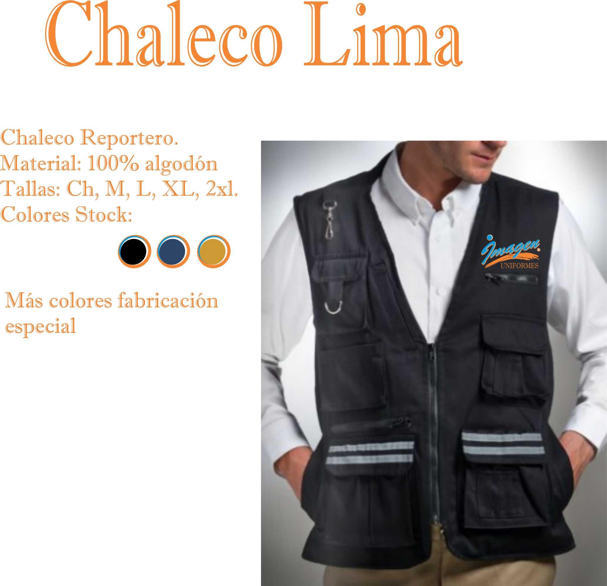 CHALECO LIMA