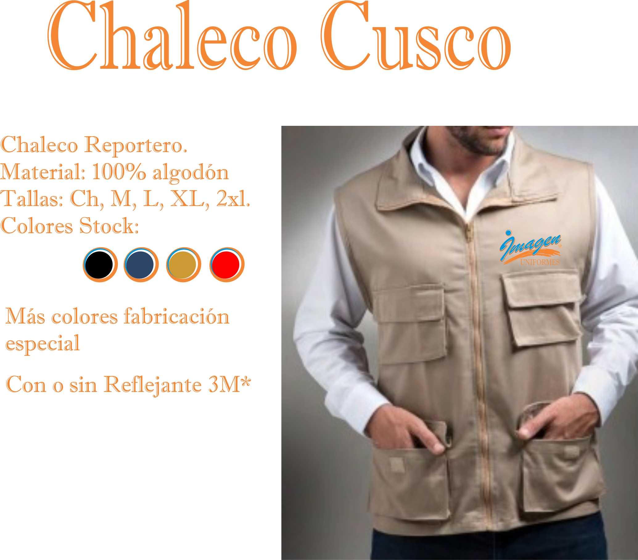 CHALECO CUSCO